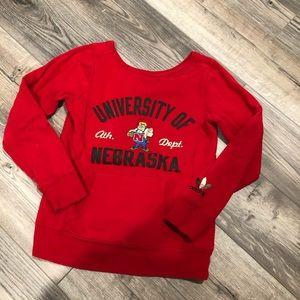 Nebraska Herbie Husker sweatshirt adidas small